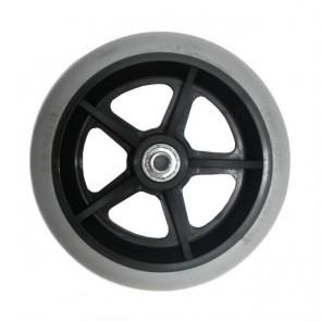Rueda maciza 150x32mm (6 x 1-1/4) llanta negra