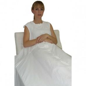 Sábana de sujeción ajustable sin mangas para cama de 105cm.