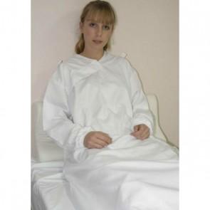 Sábana de sujeción ajustable con mangas para cama de 105cm.