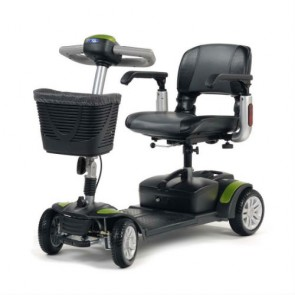 Scooter Eclipse plegable y desmontable verde