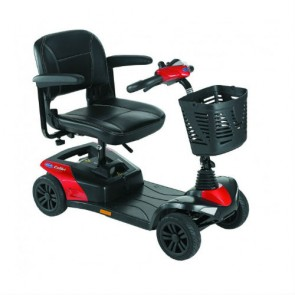 Scooter electrico desmontable invacare colibri - Color rojo