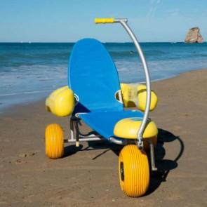 Silla anfibia Tiralo 2 para playa