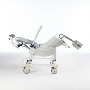 Silla de ducha Aquatec Ocean Dual VIP Ergo con basculación de asiento y reclinación de respaldo