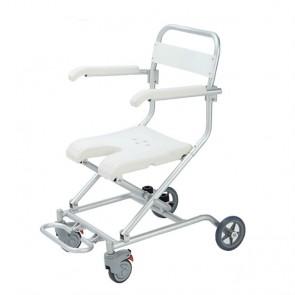 Silla de ducha plegable con ruedas New Victoria Roller