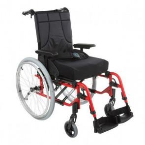 Invacare Action 4 NG - Silla de ruedas de aluminio plegable