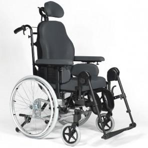 Breezy Relax 2 Basic - Silla de ruedas de posicionamiento basculante y reclinable