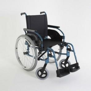Invacare Action 1R - Silla de ruedas de acero autopropulsable