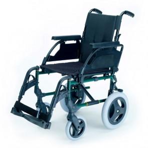 Silla de ruedas de acero no autopropulsable Breezy Premium