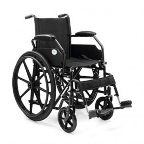 Silla de ruedas de acero plegable PC21 - Autopropulsable