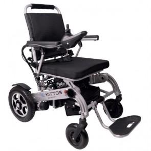 Silla de ruedas eléctrica E-Kittos con plegado eléctrico
