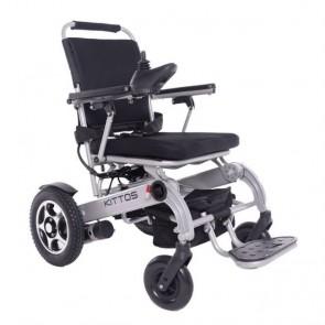 Silla de ruedas eléctrica Kittos Country plegable de aluminio