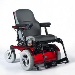Silla de ruedas eléctrica Quickie Jive con tracción delantera