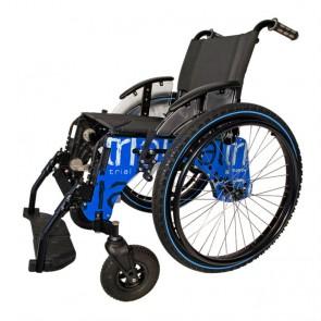 Silla de ruedas Trial Country azul