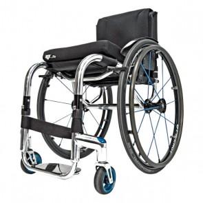 RGK Tiga FX - Silla de ruedas de chasis rígido de aluminio monotubo