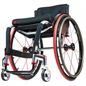 RGK Tiga - Silla de ruedas de chasis rígido de aluminio de doble tubo
