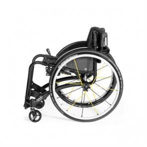 Silla de ruedas ultraligera Wolturnus W5 de chasis rígido