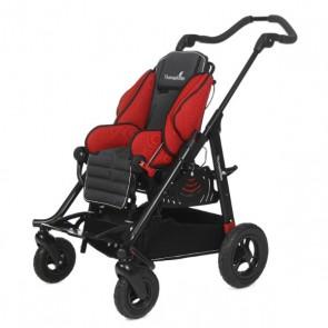 Silla de ruedas para niños postural y basculante Easys Advantage 1 - Roja
