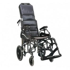 VIP - Silla de ruedas de aluminio basculante y plegable