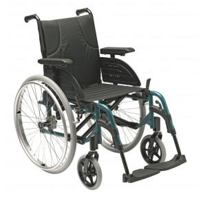 Invacare Action 4 NG - Silla de ruedas de aluminio plegable versión autopropulsable