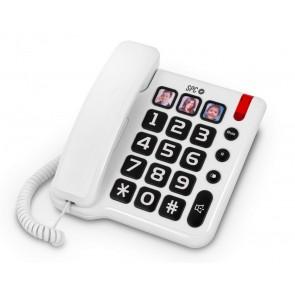 Teléfono de teclas grandes y memorias directas con foto