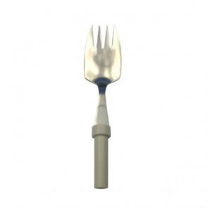Terminación de tenedor y cuchara en uno