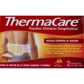 Thermacare lumbar y cadera 2 unid.