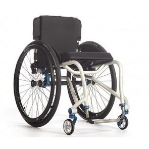 TiLite Aero T - Silla de ruedas de chasis rígido de aluminio de doble tubo