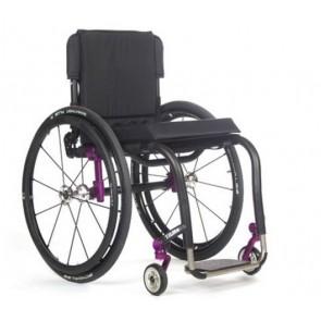 TiLite Aero Z - Silla de ruedas de chasis rígido de aluminio mono tubo