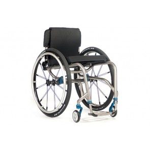 TiLite TR Series III - Silla de ruedas de chasis rígido de titanio de doble tubo