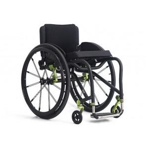 TiLite TRA - Silla de ruedas de chasis rígido de titanio de doble tubo