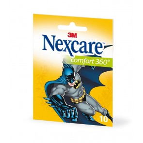Tiritas Nexcare Aqua 360 Batman 10 unid (surtidas bolsillo)