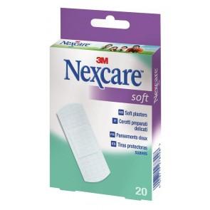 Tiritas Nexcare Soft 20 unid (19x72mm.)