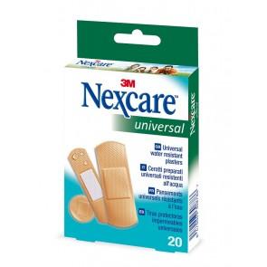 Tiritas plástico Nexcare universal 20 unid (surtidas)