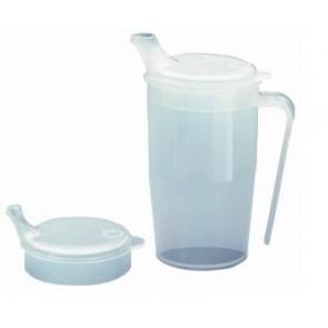 Vaso de policarbonato con asa