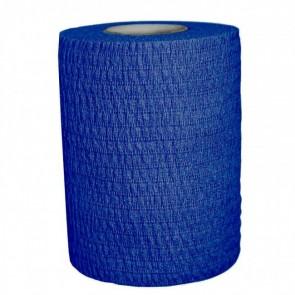 Venda Elástica Cohesiva Azul 5 cm x 4.5m Caja 288 unidades.