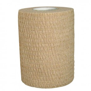 Venda Elástica Cohesiva beige 2.5cm x 4.5m