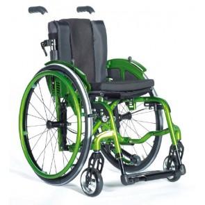 Zippie Youngster 3  VIP - Silla de ruedas infantil de aluminio plegable autopropulsable