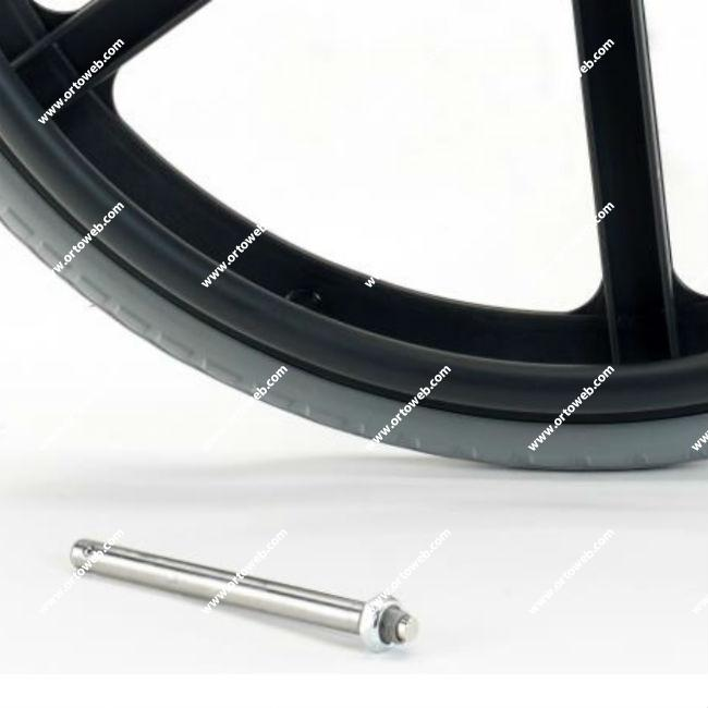 Eje de desmontaje rápido ruedas traseras