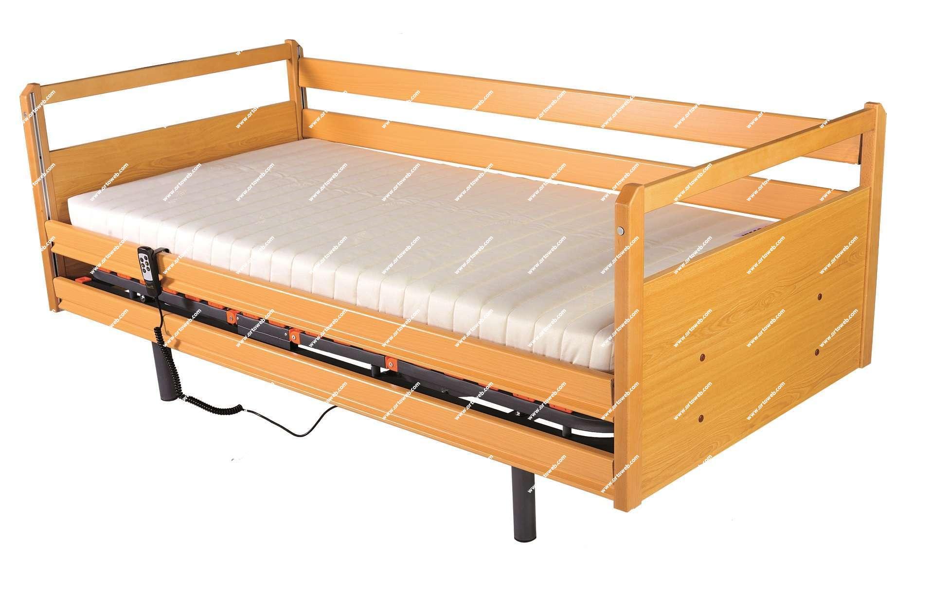 Cama articulada el ctrica geria 4 planos de 90cm kit for Dimensiones cama nido