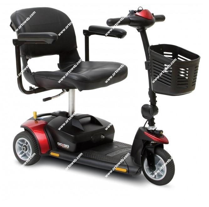 Scooter Gogo 3 ruedas y baterias de 12 amperios