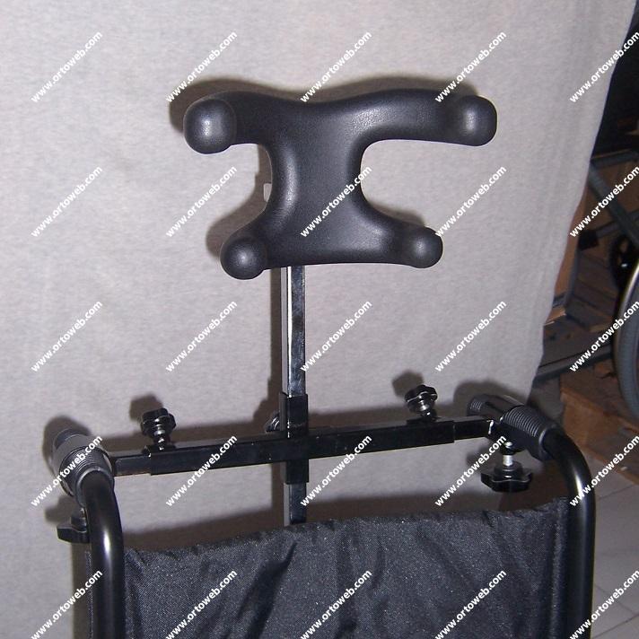 Reposacabezas ajustable (no válido para ancho de asiento de 60cm.)