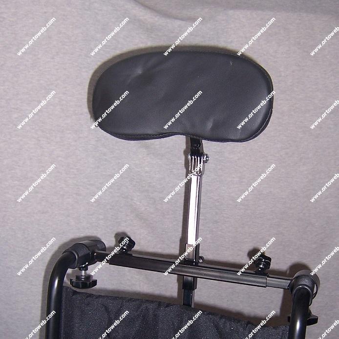 Silla de ruedas bari trica h rcules ortoweb - Reposacabezas silla de ruedas ...