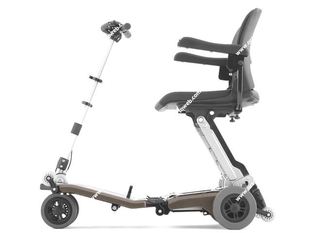 Scooter Luggie Super con bateria de Litio de 10,5Ah. Reposabrazos incluidos
