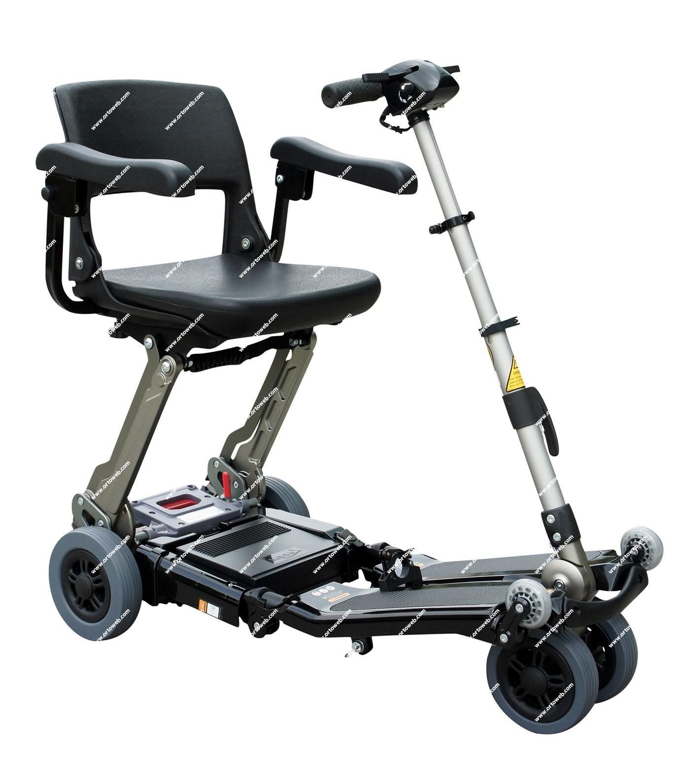 Scooter Luggie Elite con bateria de Litio de 10,5Ah. Reposabrazos incluidos