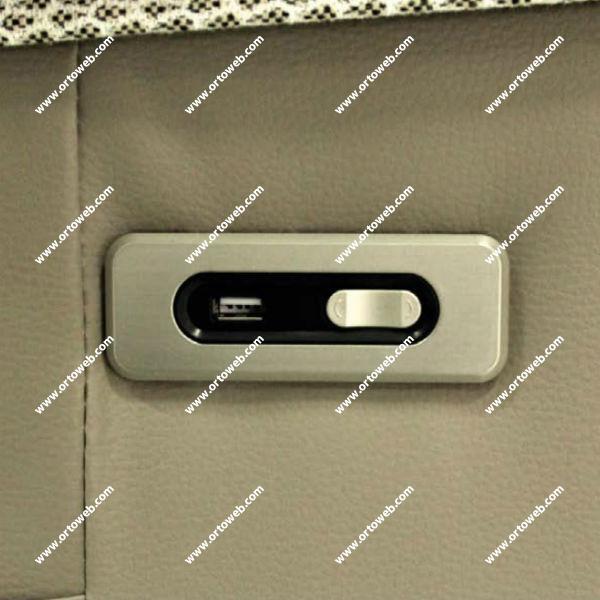 Mando integrado con puerto USB