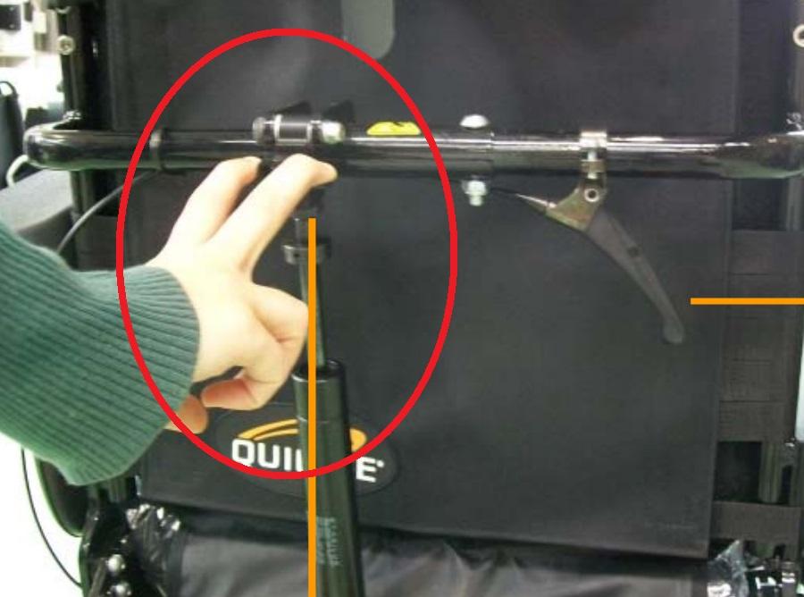 Respaldo reclinable mediante actuador de gas (de -3º a 30º)