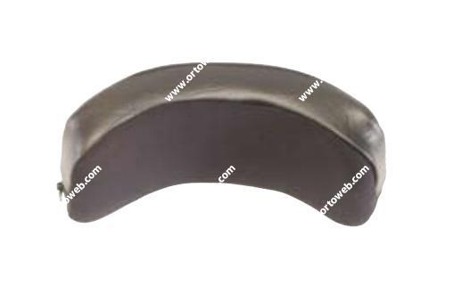 Reposacabezas con forma curva (23 cm x11 cm)