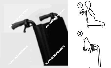 Respaldo reclinable por cremallera de 0 a 30º , 51cm. de altura