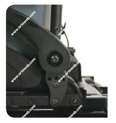 Respaldo standard reclinable con herramientas de -4° a 16°