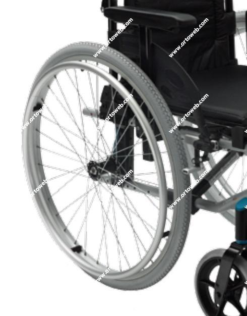 Rueda trasera autopropulsable hinchable de 600mm (24x1 3/8)